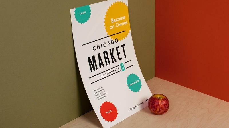 Chicago Market Poster