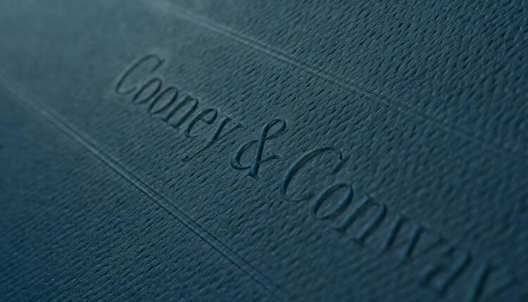 Cooney Conway Loop Staples Detail