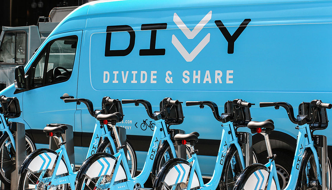 Divvy Van and Decal