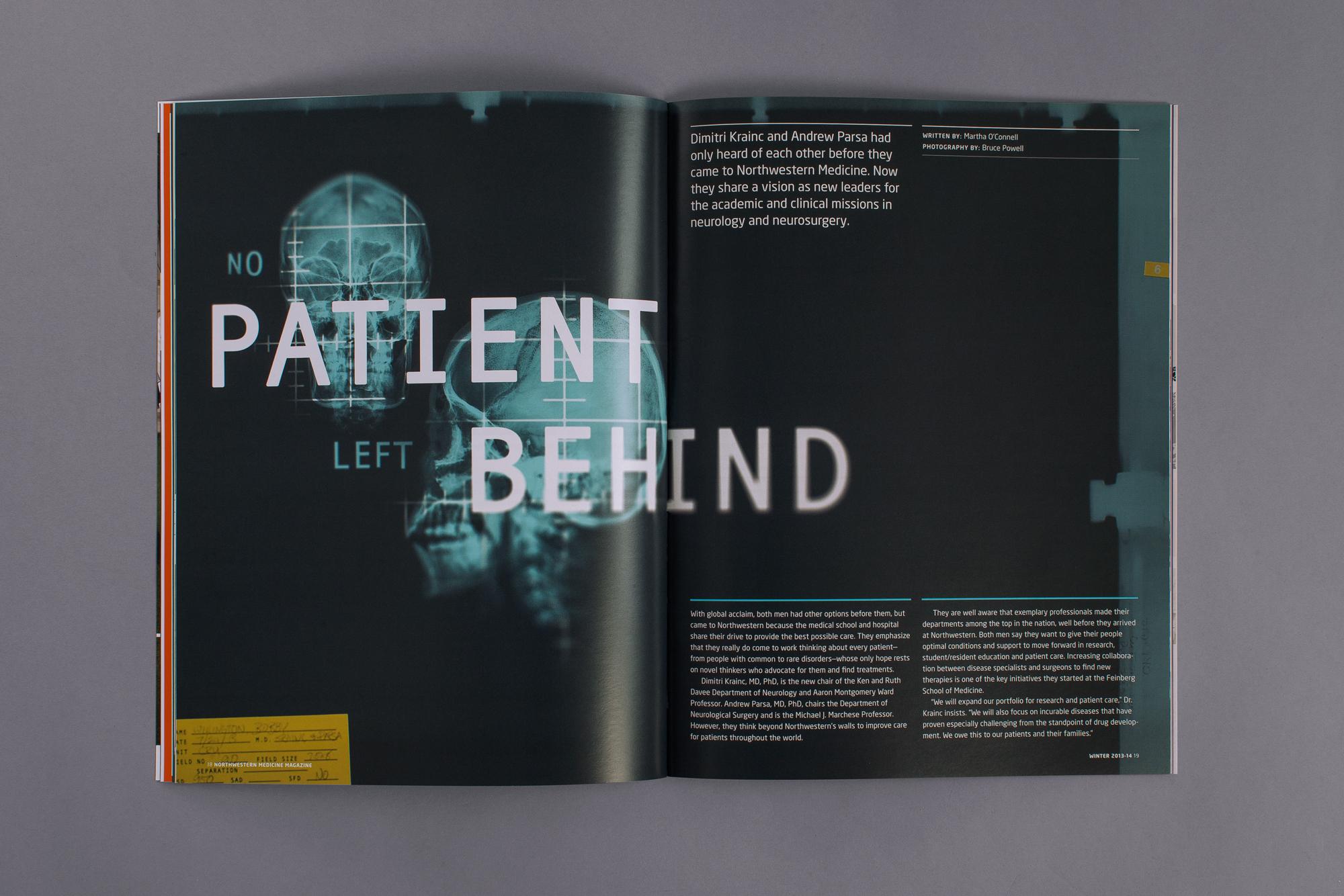 Northwestern Medicine Magazine   Firebelly Design